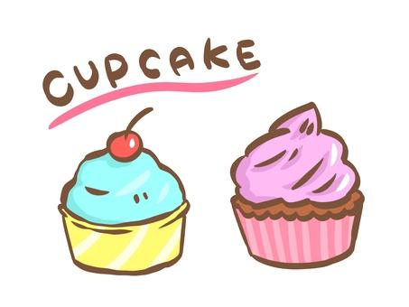 American primary cupcake