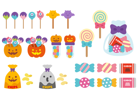 Halloween _ sweets _ material
