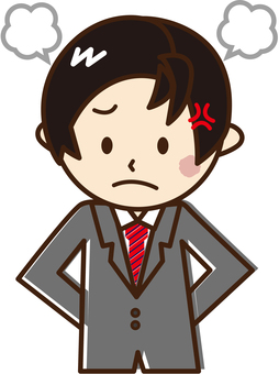 Men with angry suits _B 16