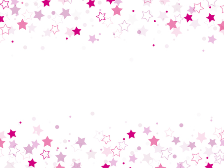 "Starry sky frame ""Pink"""