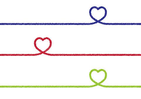 Set 23_04 (hand-drawn style heart border)
