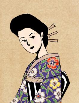 Taisho lady