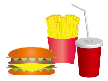 Hamburger set