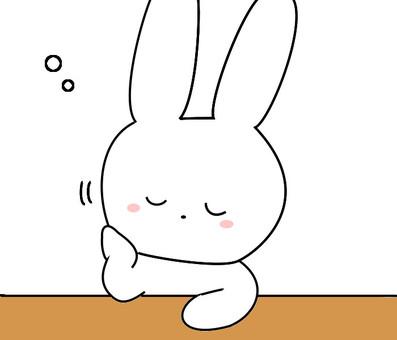 Usagi很困