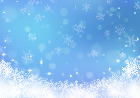 Winter background material 06