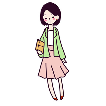 Commuter casual woman
