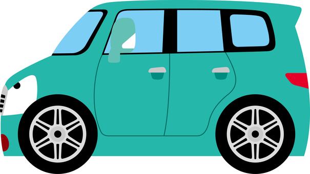 Horizontal car car mini van