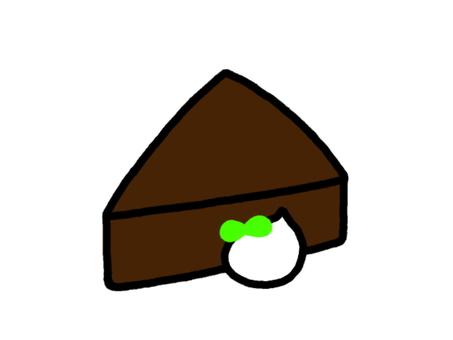 Gateau chocolat cream
