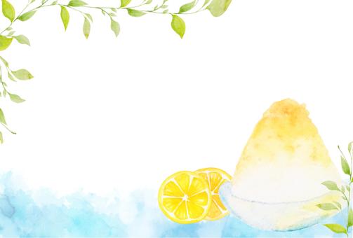 【POSCO】 watercolor shaved ice hot summer sunrise