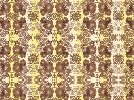 Japanese Pattern Background (Brown)