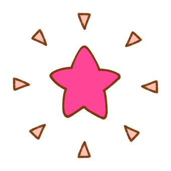 Pickly Stars (Pink)