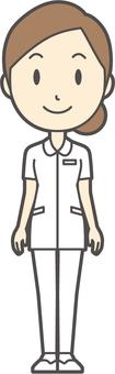 Dango nurse White clothes -214 - whole body