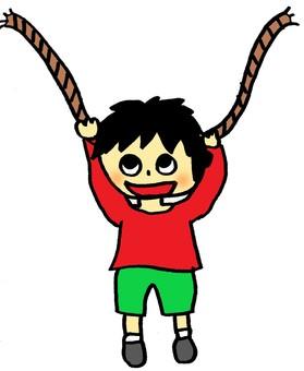 Hanging boy 2