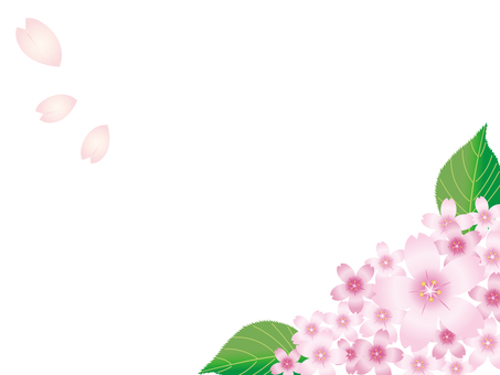 Sakura frame · background 1