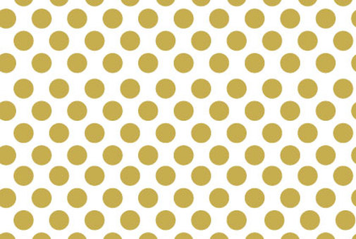 Golden polka dots background