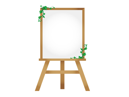 Easel ivy 2 (white board)