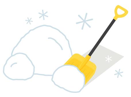 雪掻きスコップ_雪かき
