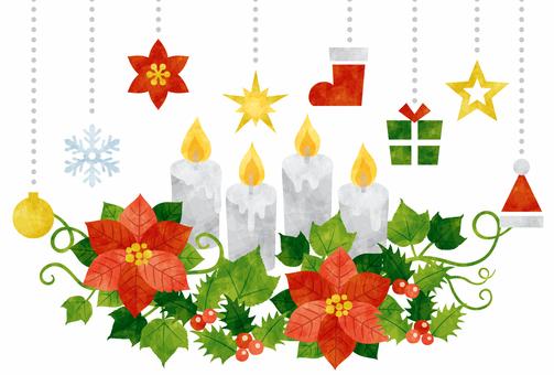 Christmas / candle