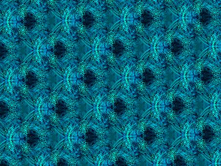 Pattern pattern (blue)