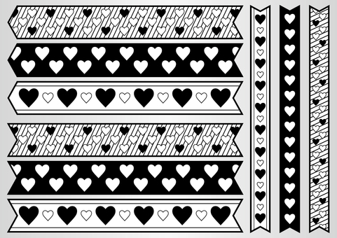 Heart ribbon 01