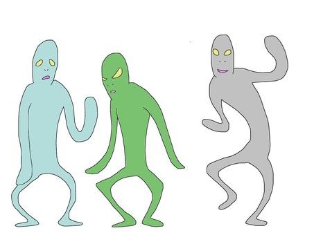 外星人3身體套裝