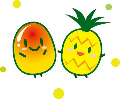 Mango and Pine