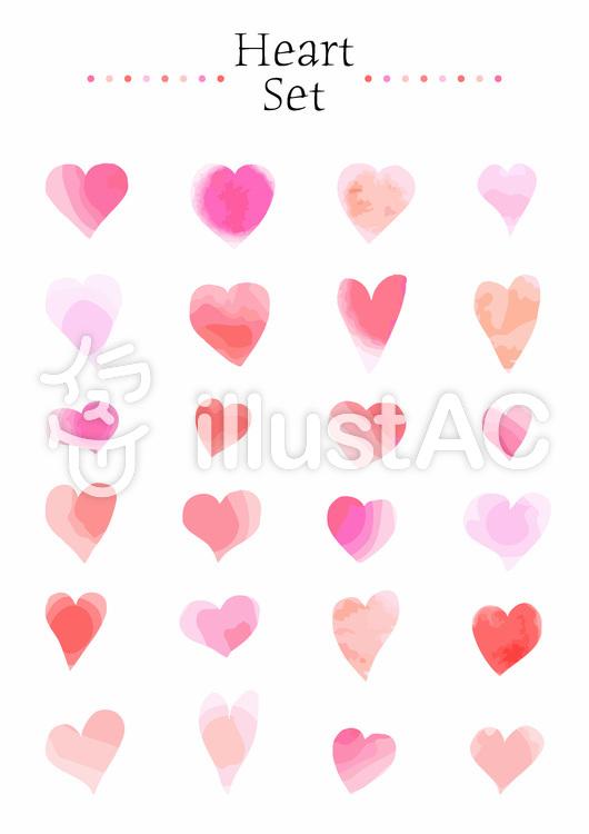 heart set 01のイラスト
