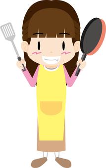 여성 롱 (요리)