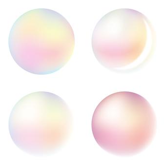 Soap bubble A