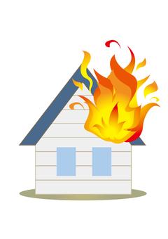 Residential fire B