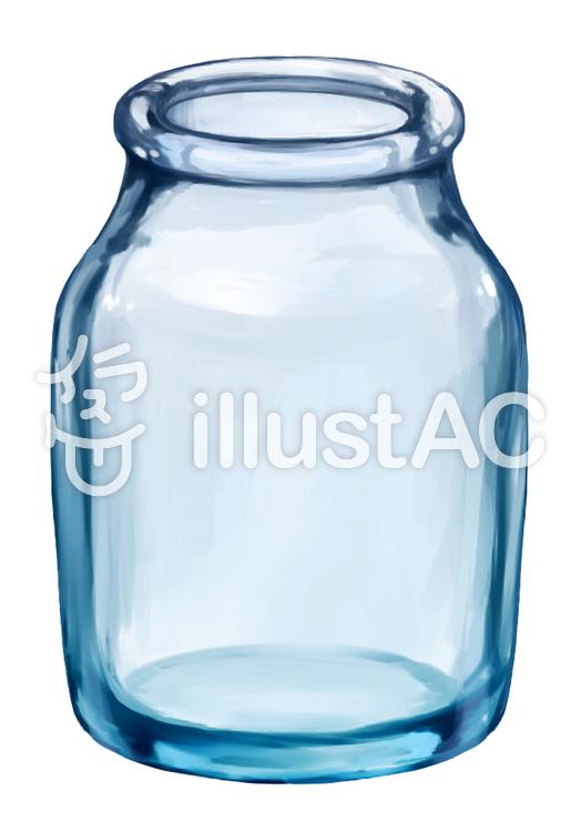 ガラス瓶イラスト No 626365無料イラストならイラストac