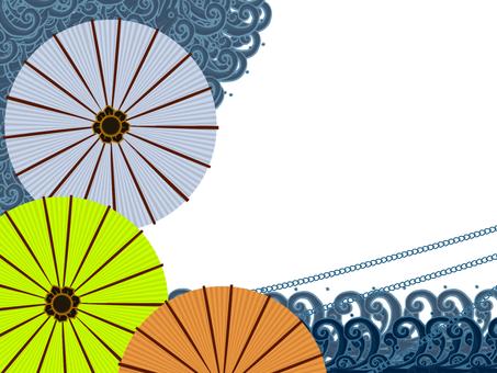 Umbrella frame 3