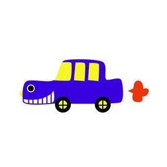 보라색 자동차