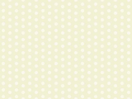 부드러운 물방울 도트 패턴 노란색