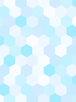 Geometric pattern background material / blue
