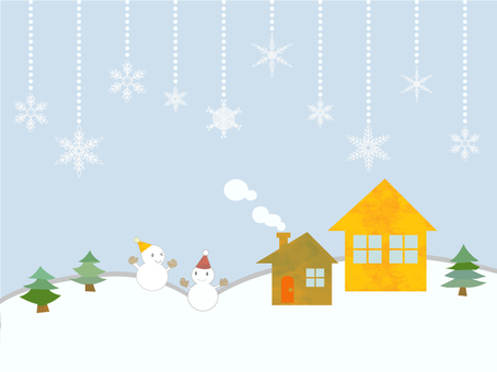 Christmas card with fun atmosphere