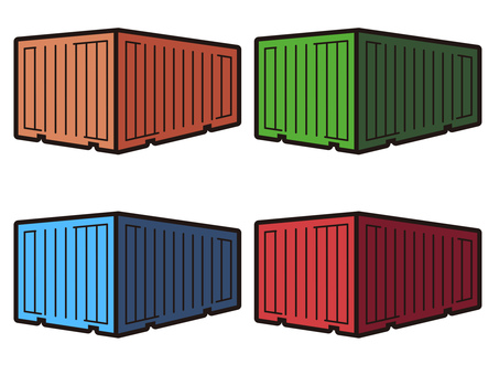 4 kinds of containers