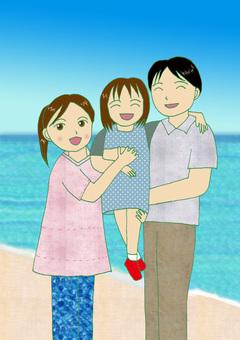 오키나와의 가족