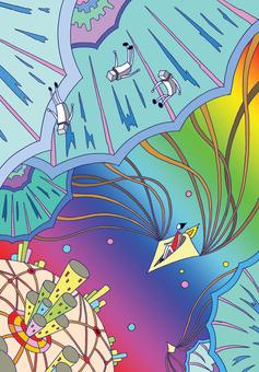 Space kite