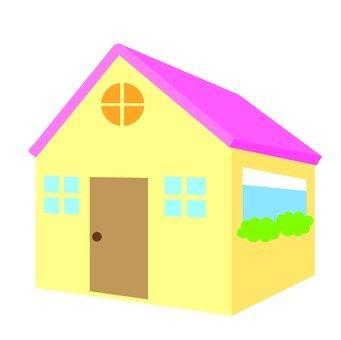 House with skylight