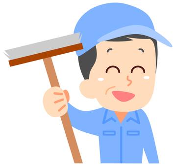 Cleaner Senior Male