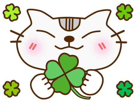 Clover and American Shorthair