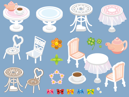 Outdoor table parts_Single