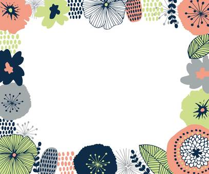 Nordic design frame pink