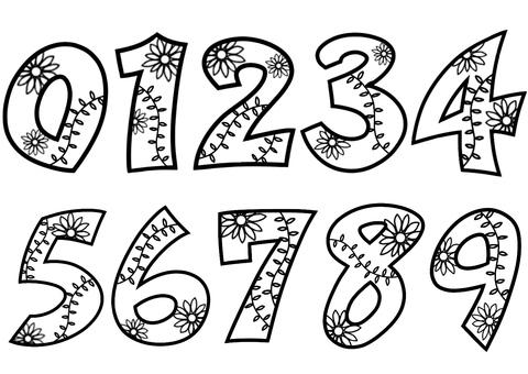 Botanical numbers