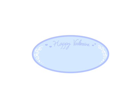 Valentine's Day plate style