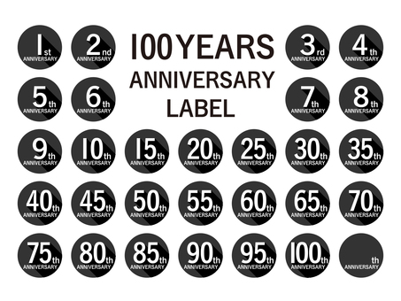 Anniversary Label 100th Anniversary Set