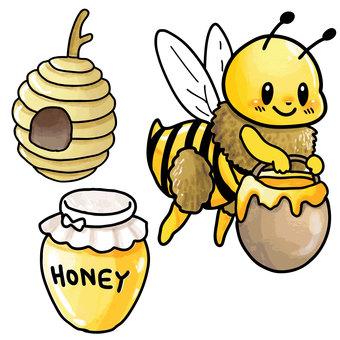 꿀벌 세트