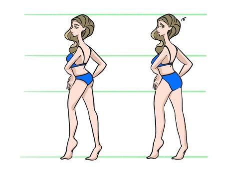 Body type female