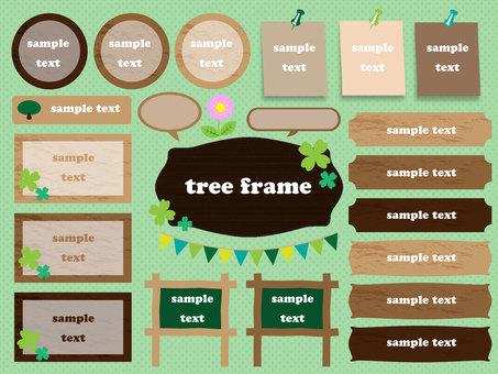 Tree frame set